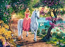Castorland jigsaw puzzle 100 pieces: Secret paths