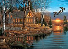 Cobble Hill puzzle 1000 pieces: stay on the lake