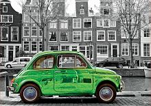 Puzzle Educa 1000 parts: Car in Amsterdam