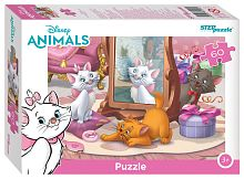 Puzzle Step 60 details: the Pets of the Disney