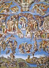 Puzzle Clementoni 1000 pieces-Michelangelo. Judgment day