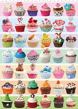 Puzzle Eurographics 1000 pieces: Holiday cupcakes