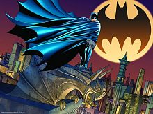 Prime 3D puzzle 500 pieces: a bat signal