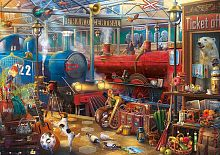 Puzzle Educa 500 pieces: Train station
