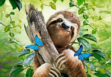 Puzzle Castorland 500 pieces: Happy sloth