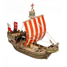 Medieval city: the Hanseatic Kogg. Team toy - Smart paper (268)