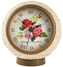 Puzzle-Pintoo watch 145 parts: Classic rose