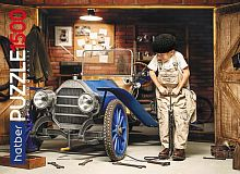 Puzzle Hatber 1500 parts: the Young mechanic