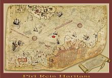 Puzzle Art Puzzle 1000 pieces: the Piri Reis Map