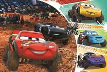 Trefl puzzle 60 pieces: Lightning McQueen with friends