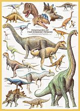 Puzzle Eurographics 1000 pieces: Dinosaurs of the Jurassic period