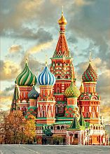 Puzzle Educa 1000 pieces: St. Basils Cathedral, Moscow