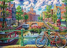 Cobble Hill puzzle 1000 pieces: the Canals of Amsterdam