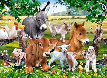 Castorland jigsaw puzzle 100 pieces: On the farm