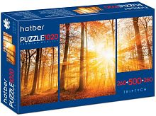 Puzzle Hatber 2х260 and 500 parts: In the silence of nature