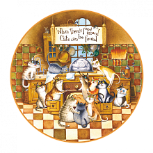Jigsaw puzzle wooden 50 items DaVICI: Happy cats