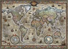 Puzzle Heye 1000 pieces Old map
