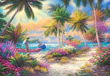 Puzzle Castorland 1000 pieces: Isle of palms
