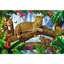 Trefl puzzle 1500 pieces: stay among the trees