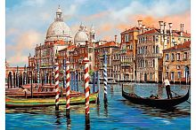 Puzzle Trefl 1000 pieces starts at Noon in Venice - the Grand canal