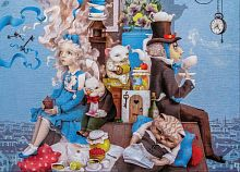 Wood puzzle 350 parts DaVICI: Mad tea party