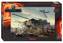 Puzzle Step 560 details: World of Tanks