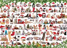 Puzzle Eurographics 1000 pieces: Holiday cats