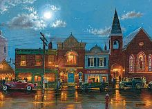Cobble Hill puzzle 1000 pieces: Evening service