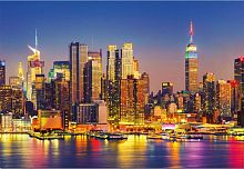 Jigsaw puzzle Educa 1500 pieces: Manhattan at night