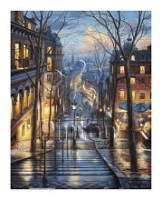 Puzzle Pintoo 500 items: E. Lushpin. Montmartre in spring