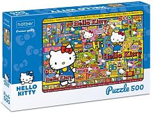 Hatber 500 pieces puzzle: Hello Kitty