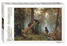 Jigsaw puzzle Step 1000 pcs: Morning in a Pine Forest.