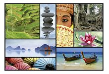 Educa 1000 Puzzle Pieces: Colors of Asia