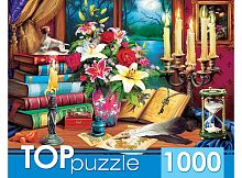 TOP Puzzle 1000 Pieces: Mysterious Still Life